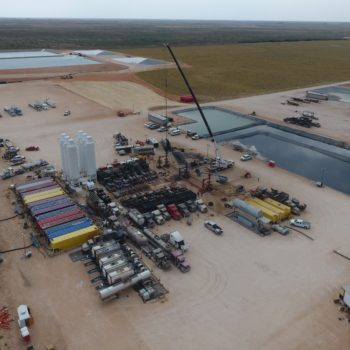Frac Fleet with Recycling Facility 1